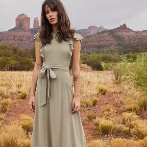 Christy Dawn Quinn Dress in Sage - XS